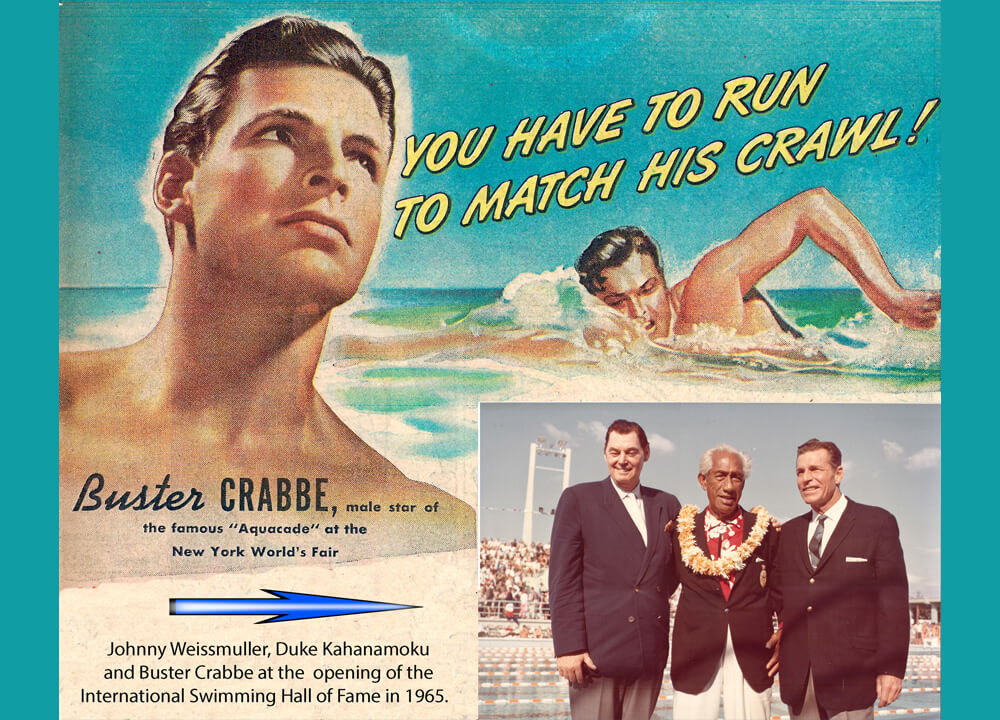 Swimming World June 2021 - Did You Know - About Buster Crabbe
