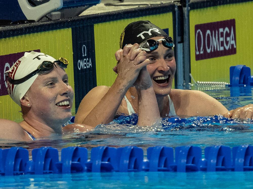 annie-lazor-lilly-king, olympic trials, u.s. women's swim team