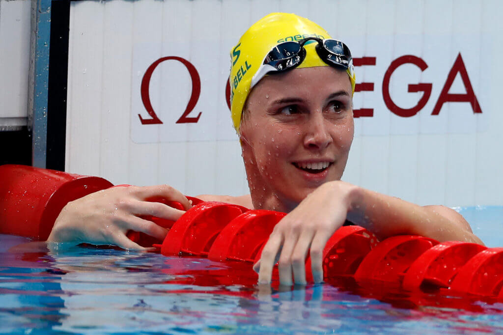 Bronte Campbell smile