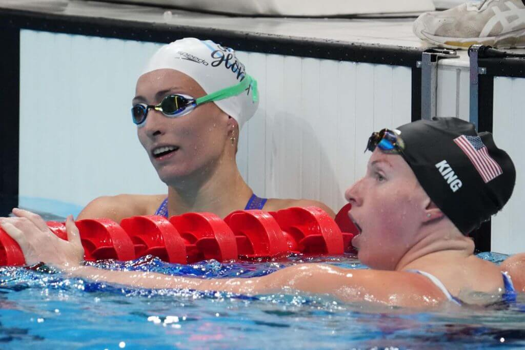 XXX tatjana-schoenmaker-lilly-king-100-breast-semifinals-tokyo-olympics