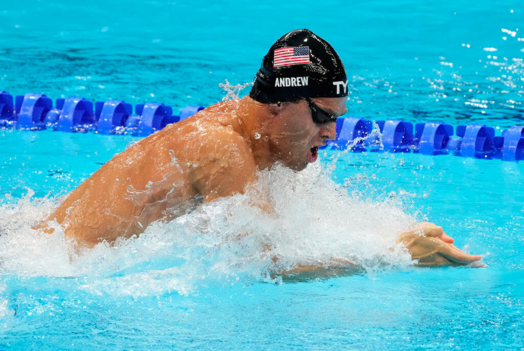 usa medley relay, michael andrew, tokyo olympics