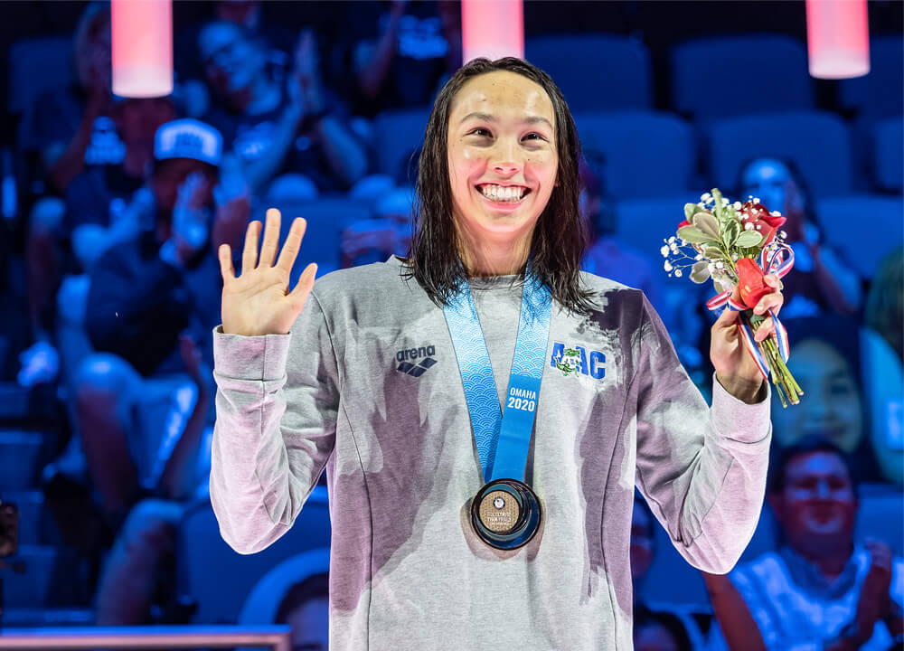 Swimming World August 2021 - Female High School Swimmer of the Year - Torri Huske