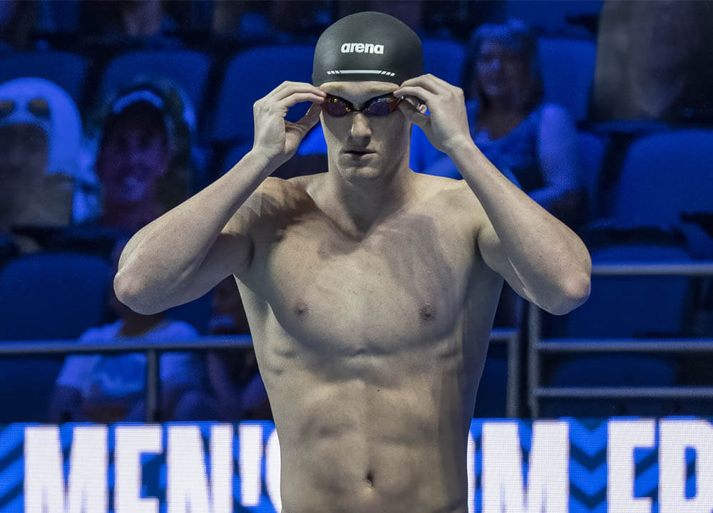 Swimming World August 2021 - Male High School Swimmer of the Year - Aiden Hayes