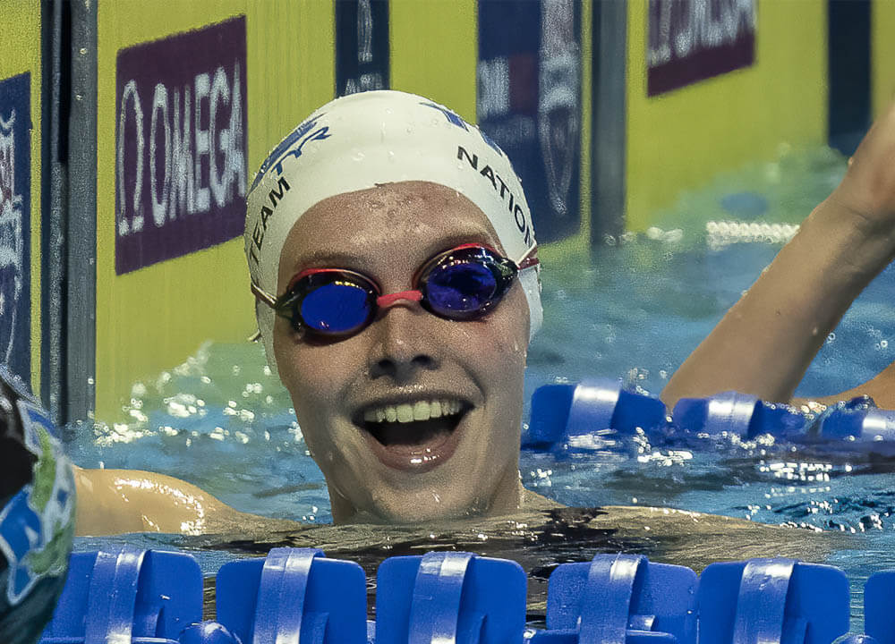 Swimming World August 2021 - The Four High School Swimmers of the Year Runners-Up