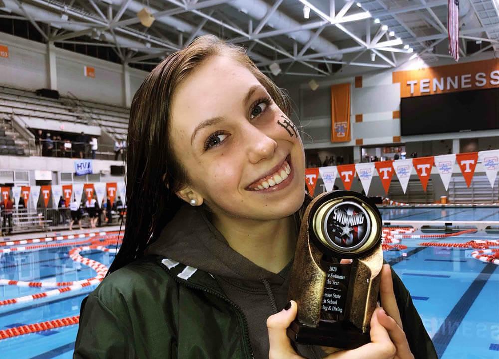 Swimming World August 2021 - Top High School Recruits
