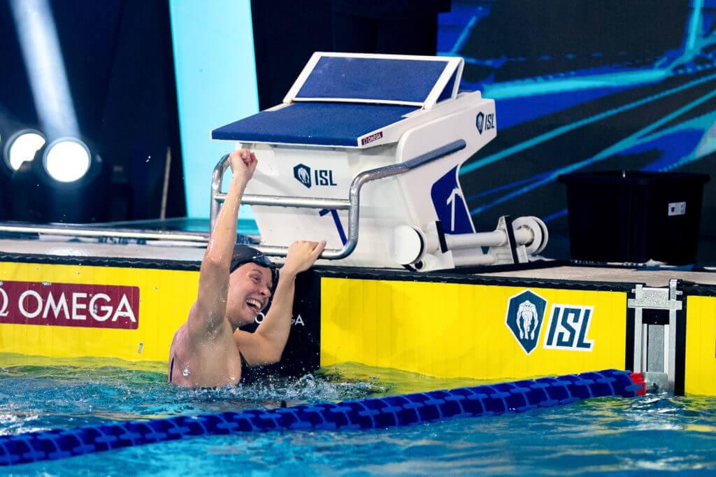 HANSSON Louise TOR Toronto Titans TOR ISL International Swimming League 2021 Match 5 day 1 Piscina Felice Scandone Napoli, Naples Photo Giorgio Scala / Deepbluemedia / Insidefoto