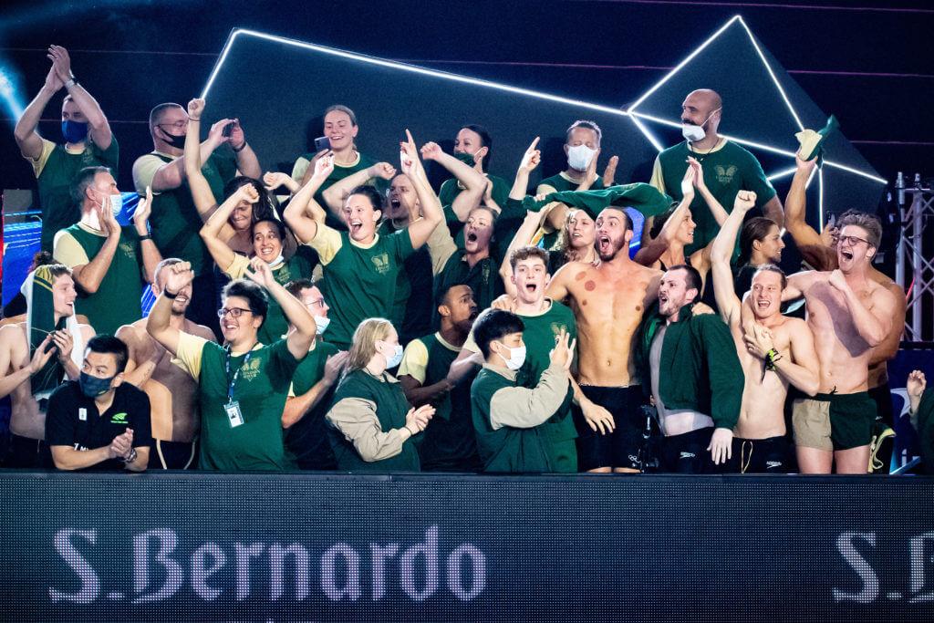 London Roar (LON) London Roar (LON) ISL International Swimming League 2021 Match 6 day 2 Piscina Felice Scandone Napoli, Naples Photo Giorgio Scala / Deepbluemedia / Insidefoto