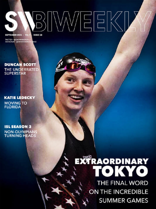 SW Biweekly 9-21-21 - Extraordinary Tokyo - The Final Word On The Incredible Summer Games - COVER