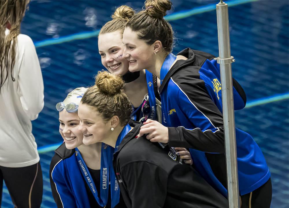 Swimming World September 2021 Presents - Girls' National High School Championships Mock Heat Sheet