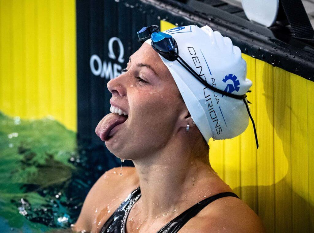 Arianna Castiglioni AQC Aqua Centurions (AQC) ISL International Swimming League 2021 Match 10 day 1 Piscina Felice Scandone Napoli, Naples Photo Giorgio Scala / Deepbluemedia / Insidefoto