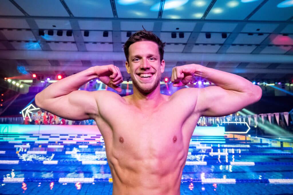 HEINTZ Philip NYB NY Breakers (NYB) ISL International Swimming League 2021 Match 11 day 2 Piscina Felice Scandone Napoli, Naples Photo Giorgio Scala / Deepbluemedia / Insidefoto