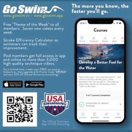 Swimming World October 2021 - 2021 Holiday Gift Guide - GoSwim