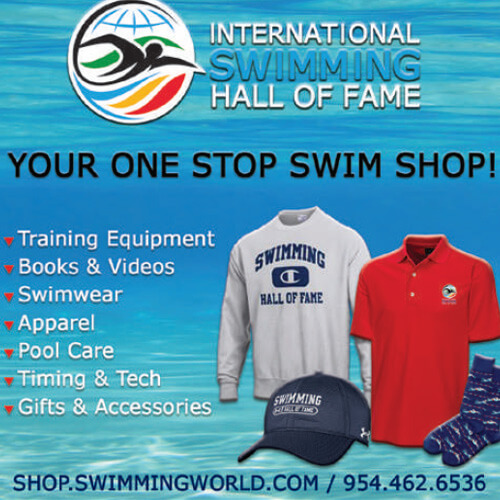 Swimming World October 2021 - 2021 Holiday Gift Guide - Hall of Fame Swim Shop