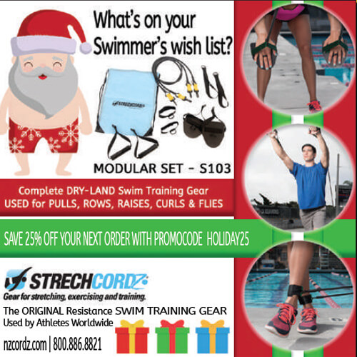 Swimming World October 2021 - 2021 Holiday Gift Guide - NZCordz