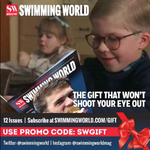 Swimming World October 2021 - 2021 Holiday Gift Guide - Swimming World 2