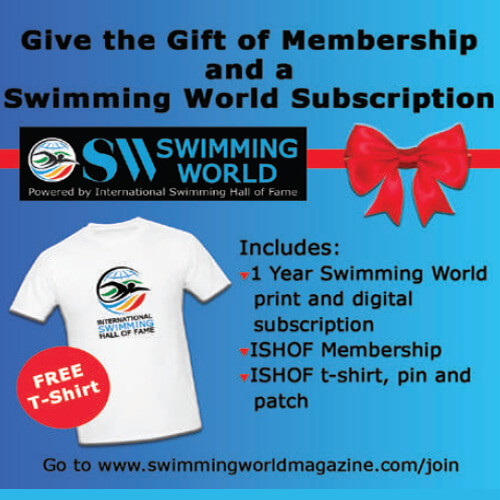 Swimming World October 2021 - 2021 Holiday Gift Guide - Swimming World