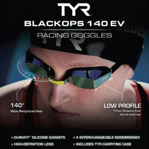 Swimming World October 2021 - 2021 Holiday Gift Guide - TYR Black Ops