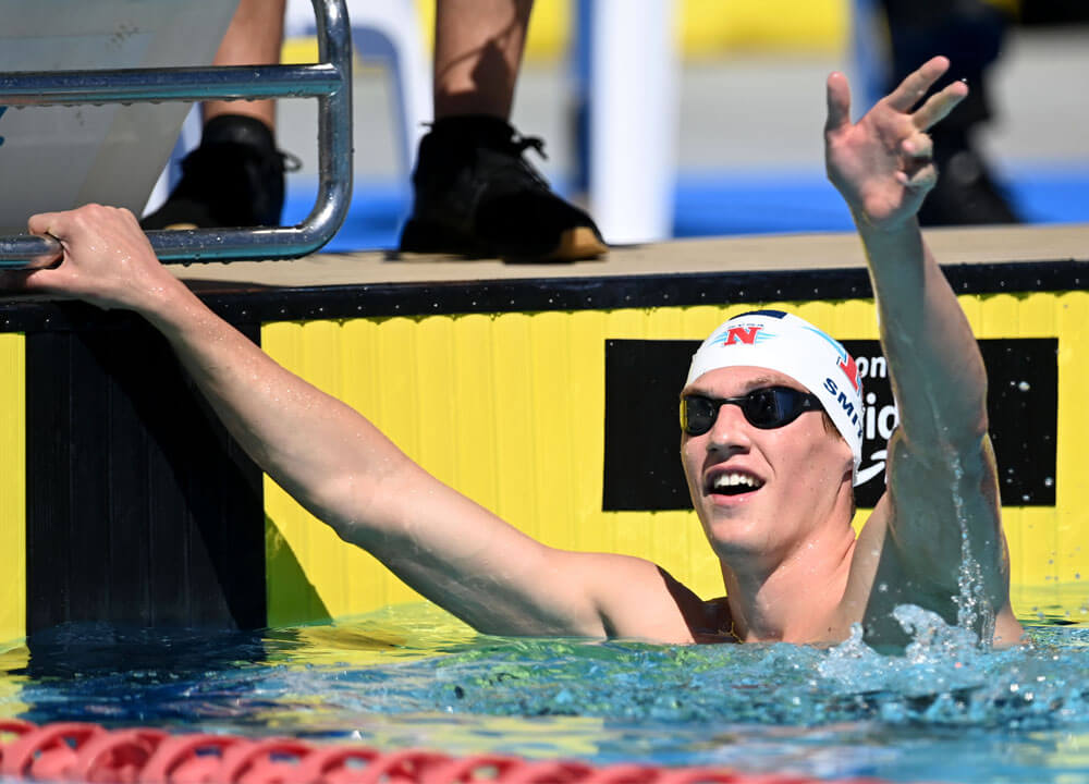 Swimming World October 2021 - Guttertalk - What are your goals racing in the ISL so soon after the Olympics
